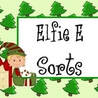 A great way to work on the short e sound. Put the presents in a row, read the e words on the elves and match them to the presents with the same wor...