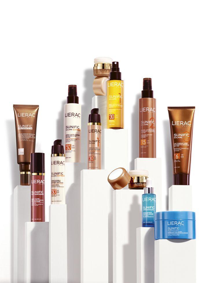 Notre gamme Sunific de Lierac Paris #Lierac  - Parfumerie et parapharmacie - Liérac
