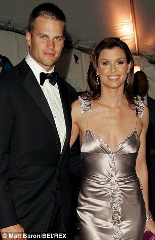 Tom Brady and Bridget Moynahan at the time they were dating.