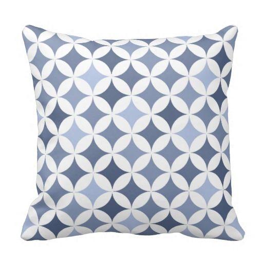 Violeta hipocicloide geométrica moderna del modelo almohadas