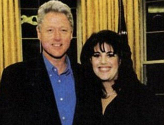 Secret Service officer tells how Bill Clinton and Monica Lewinsky were caught having sex | Daily Mail Online