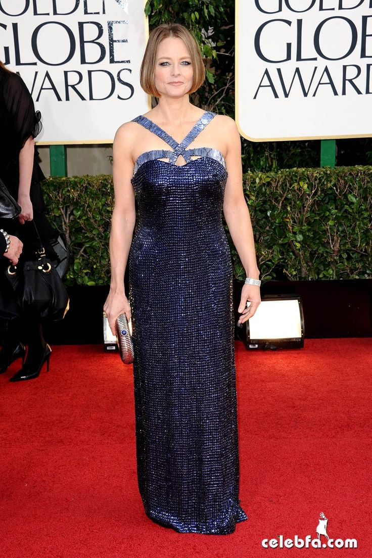 Jodie foster in giorgio armani golden globes 2013 photo by sara de boer