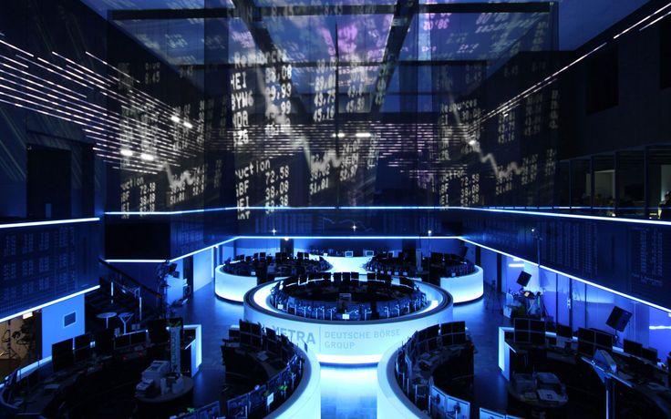 Deutsche Börse –<br>Grosser Handelssaal