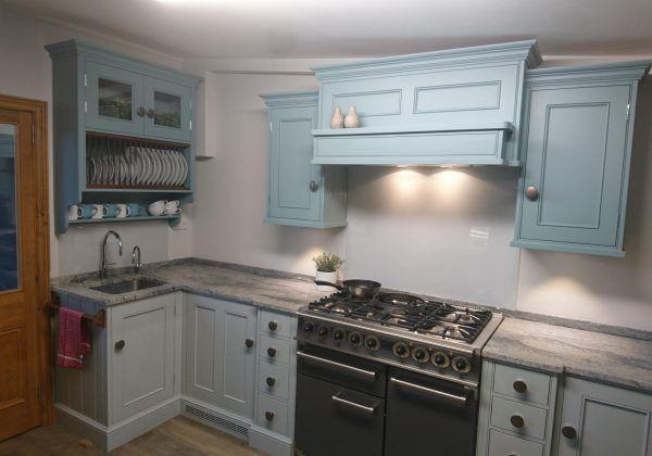 Ex Display Kitchen Modern Caple Metallic Blue South Kitchen