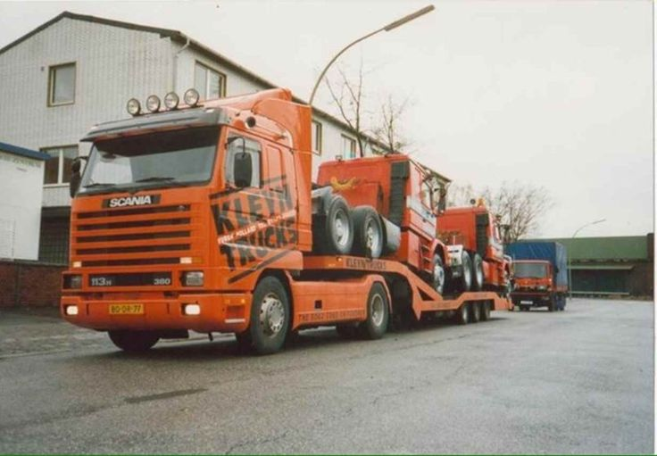 Blogpost! Trucktransport in the 90's.