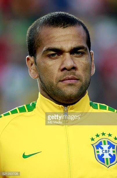 Conmebol_Concacaf Copa America Centenario 2016 Brazil National Team Daniel Alves
