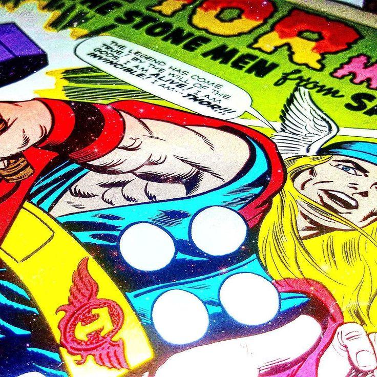Some #oldschool #Thor coming up next     #jackkirby #truebelievers #1 #marvelcomics #marvel #marvelstuff #thorragnarok #theavengers #stanlee #godofthunder #thunder #lightning #collageart #comiccollage #art #artlife #loki #odin #odinson #vintagecomics #vintage #comicart #comicpage #decoupage #mixedmedia #comics #comicstrip