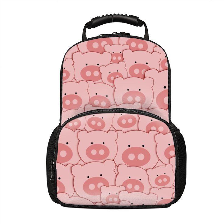 Pink Piggy Pig Pattern