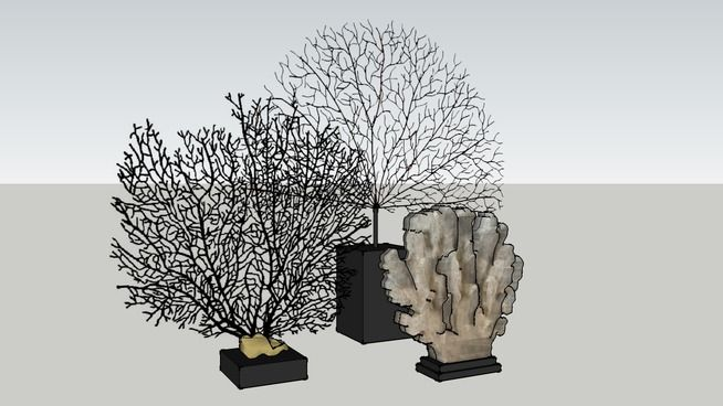 Coral props - 3D Warehouse