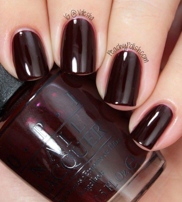 Black Nail Polish Color Names: 25+ Best Ideas About Opi Dark Red On Pinterest