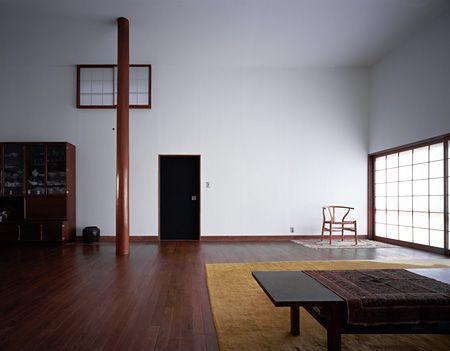 篠原一男『白の家』 1966年 撮影:新建築社写真部