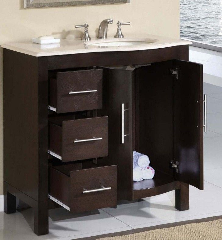silkroad kimberly single sink cabinet bathroom vanity available at bath kitchen and beyond shop our extensive line of bathroom vanities at discounted