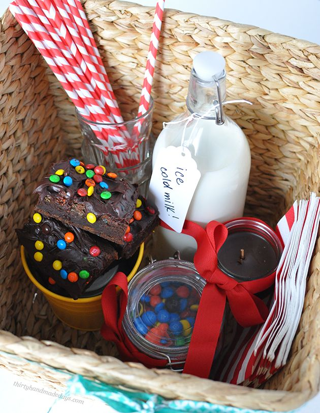 Fun gift basket idea  - makes the perfect treat for anyone! | Thirty Handmade Days