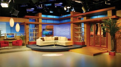 Multimedios Monterrey Mexico Talk Shows Set Design