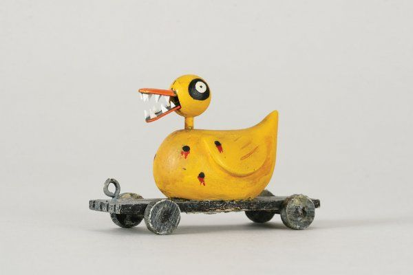Duck toy // Nightmare Before Christmas | Duck Art and Collectibles ...