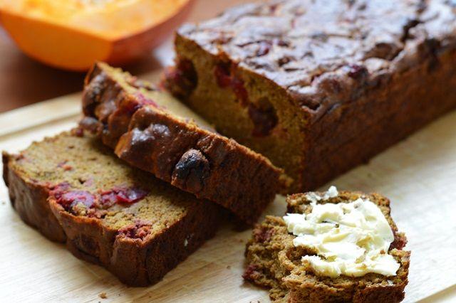 Pompoen Cranberry Brood | Oerkracht - Paleo en Puur Leven