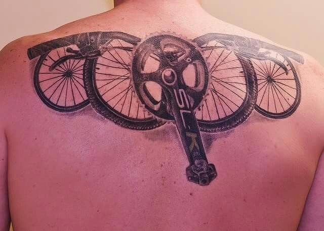 93 best images about bike tattoo on pinterest bike chain cycling and gear tattoo. Black Bedroom Furniture Sets. Home Design Ideas