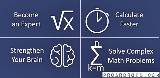 تطبيق Mental Math Master V1 9 9 النسخة المدفوعة للأندرويد مجانا Mental Math Brain Math Math