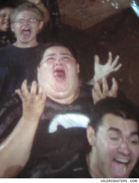 THE MOST HILARIOUS PICTURE OF A FAT KID SCREAMING I HAVE EVER SEEN