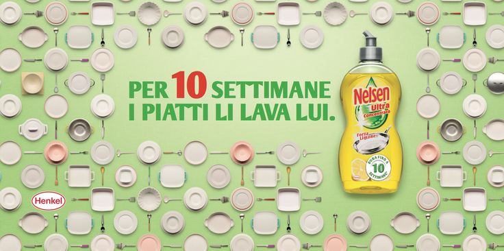 Client : Nelsen  / Henkel //  Agency : TBWA Milano // copyrighted GIACOMO BIAGI