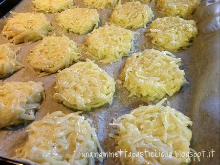 Ricetta Rosti: un buon contorno di patate | Una Mammetta Pasticciona