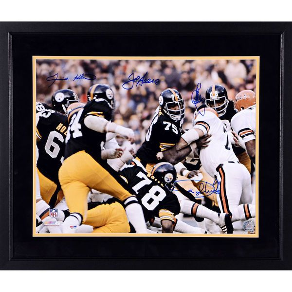 Steel Curtain Pittsburgh Steelers Fanatics Authentic Framed Autographed 16'' x 20'' Autographed 16'' x 20'' vs. Bengals Photograph - $499.99
