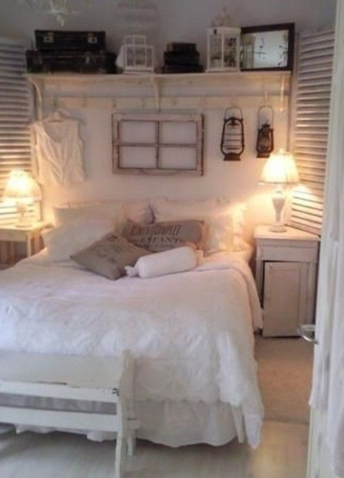 So cute - and who would have thought an all white room could be so warm!?