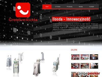 Sprzęt kosmetyczny i urządzenia medyczne uznanej marki Ilooda.