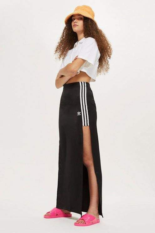 cb21c7803d9aed Adidas originals Long skirt | Women Athletic Skirts in 2019 | Skirts ...