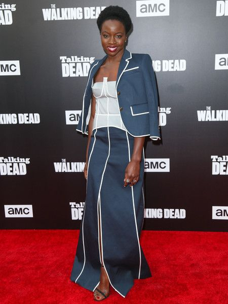 Danai Gurira Photos Photos - Danai Gurira is seen attending AMC 'Talking Dead Live' for the premiere of 'The Walking Dead' at the Hollywood Forever. - 'Talking Dead Live' for the Premiere of 'The Walking Dead'