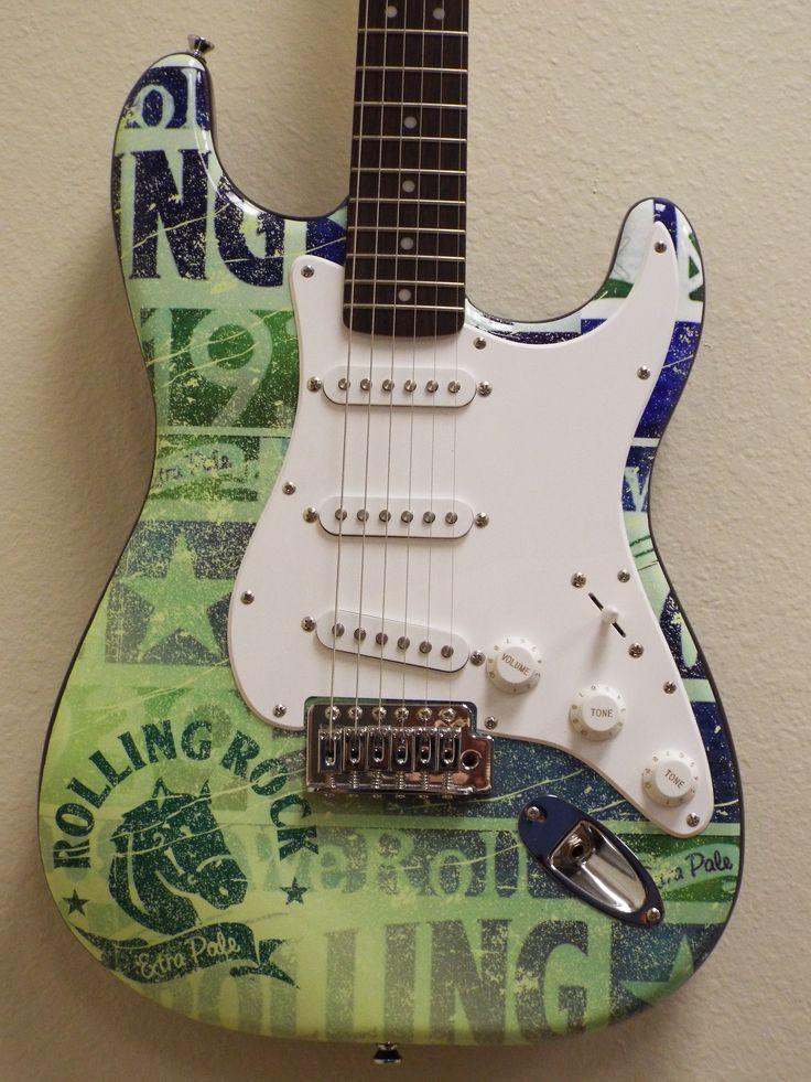1000 images about promotional beverage branded guitar awards on pinterest. Black Bedroom Furniture Sets. Home Design Ideas