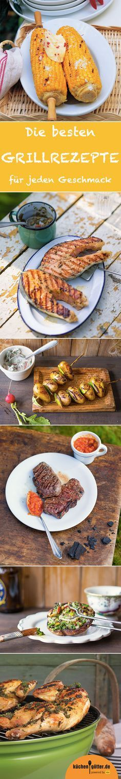 Was gibt es schöneres, als im Sommer den Grill anzuwerfen und gegrillte Köstlichkeiten zu genießen? Egal, ob ihr lieber Fleisch, Fisch oder Gemüse grillt: In unserem großen Grillspecial findet ihr nicht nur die besten Grillrezepte, sondern auch jede Menge Tipps für den perfekten Grillgenuss. Rost frei!