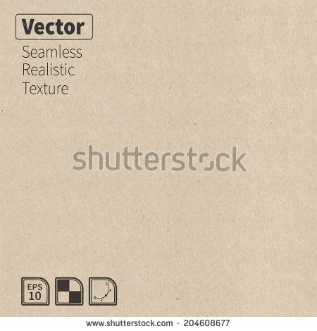Vector seamless cardboard texture. Phototexture for your design