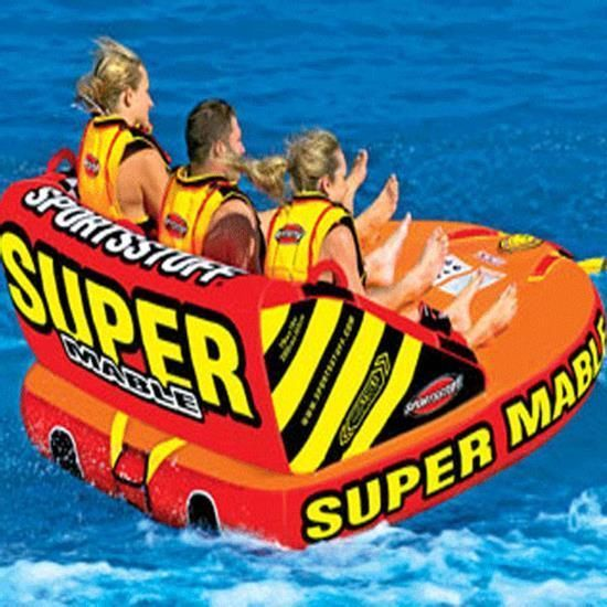 Inflatable Water Tube Boat Tow Toy Lake Pool Beach River