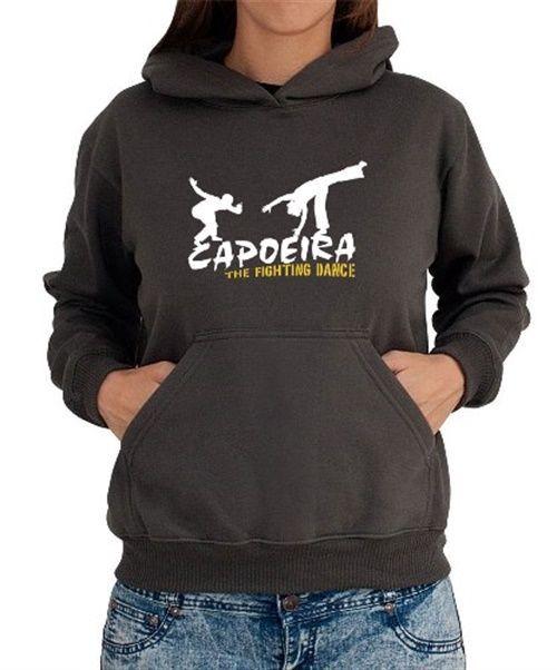 Capoeira The Fighting Dance Women Hoodie