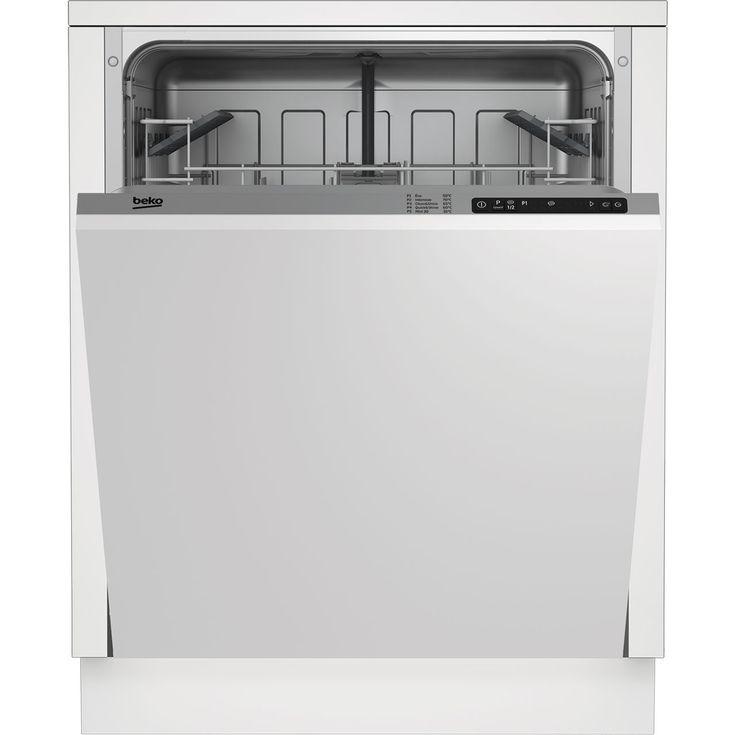 DIN15R10_SI | Beko Standard Dishwasher | Silver | ao.com