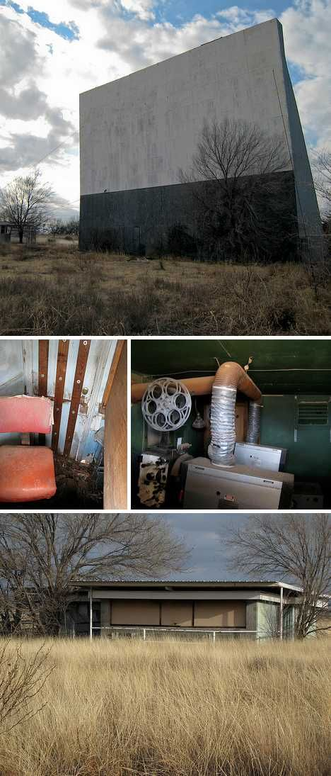 Trouble Feature: 10 Abandoned Drive-In Movie Theaters