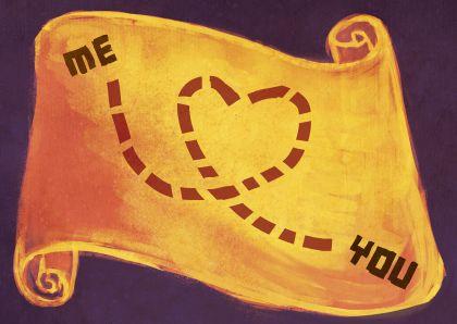♥Kaartje2go - Valentijnskaarten - Schatkaart