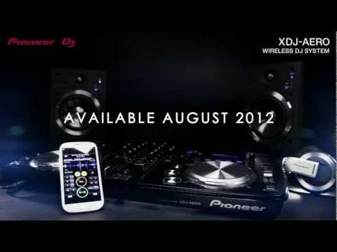 Pioneer XDJ-AERO. Industry's first: DJing with tracks in smartphones/tablets via Wi-Fi