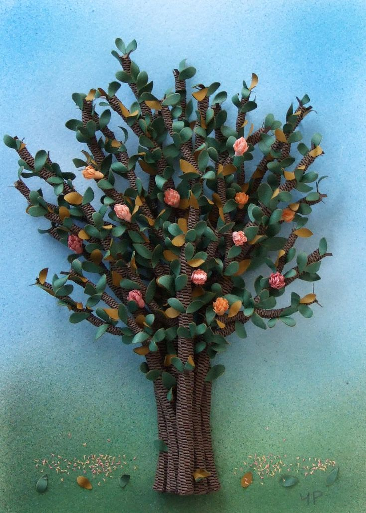 195 Best Images About Trees Quilled On Pinterest Quilling Cherry Tree And Cherry Blossoms