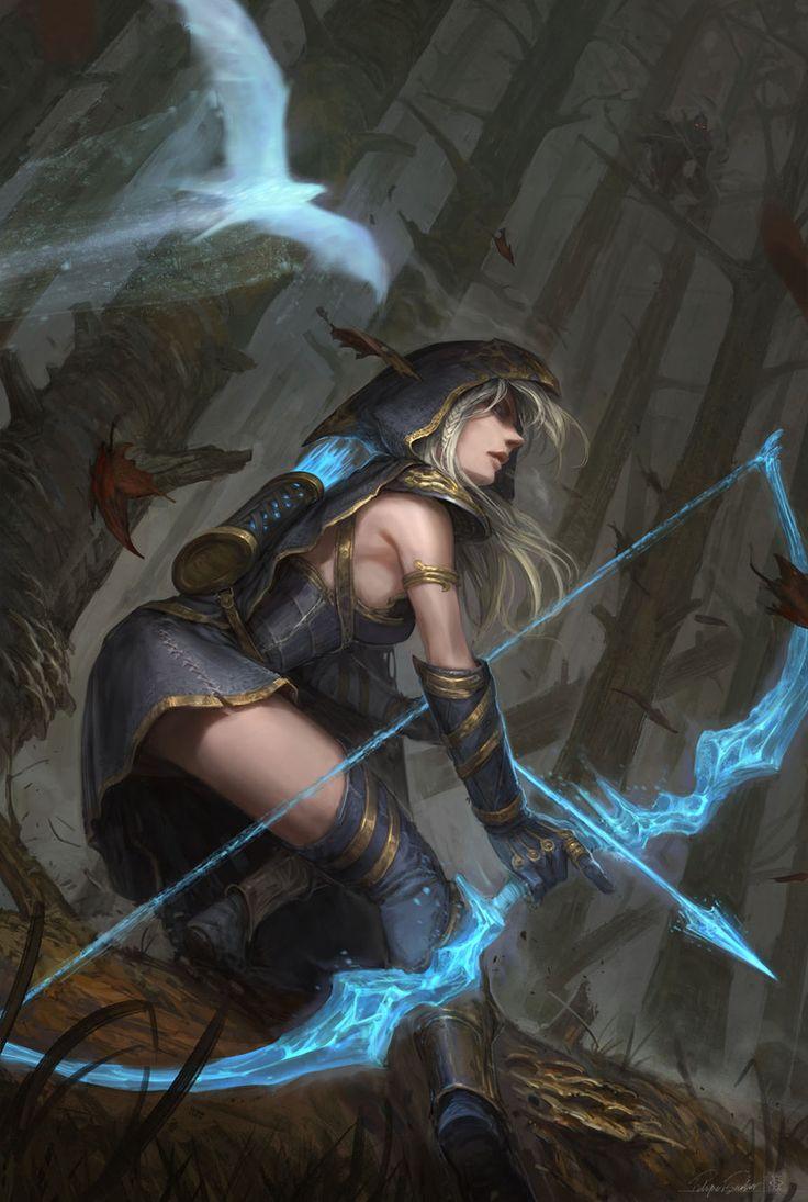 Ashe Hawkshot - A filha bastarda de Baalien