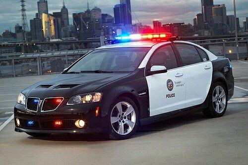 LAPD Pontiac G8