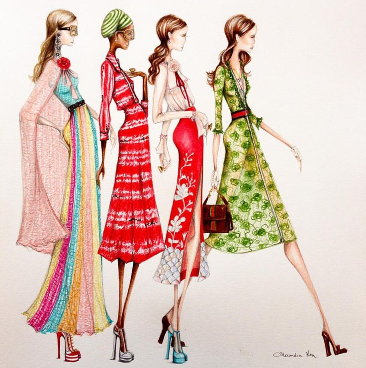 Pin De Tiba Art En Gucci Pinterest Figurin Y Ilustraciones