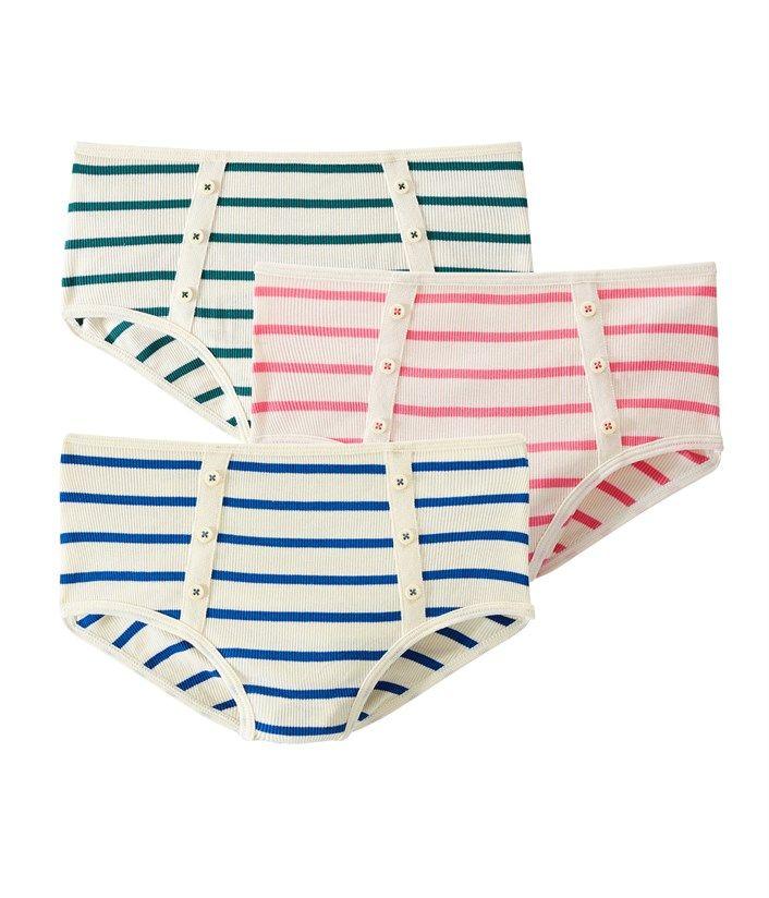 Lot de 3 culottes. Retrouvez notre gamme de vêtements et sous-vêtements  pour bébé 831bf66af469
