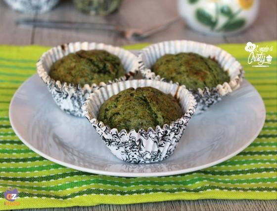 MUFFIN AGLI SPINACI E PARMIGIANO  #ricette #food #recipes