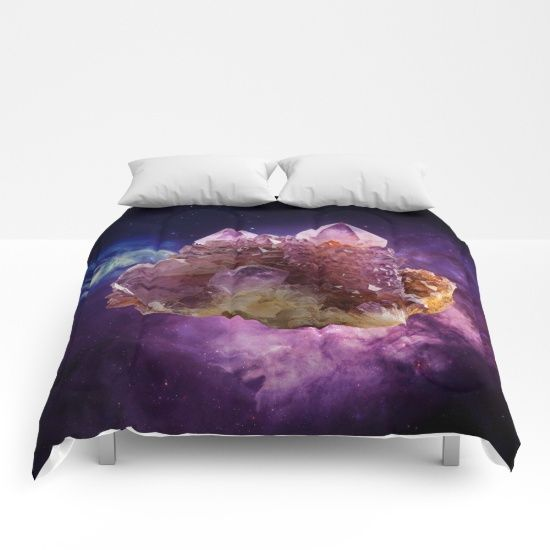 FREE WORLDWIDE SHIPPING #society6  #shopping #sales #love #reiki #gift #yoga #Interiors #namaste #ChristmasMorning #crystals #stones #amethyst #purple #space #milkyway #galaxy #meditation #reiki #yoga #planet #crystalplanet  https://society6.com/product/crystal-planet162012_comforter#s6-6365758p57a200v701