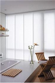 Panel Track Blinds styles, Steve's Blinds. Custom possibility is great but this site is TERRIBLE and frustrating.