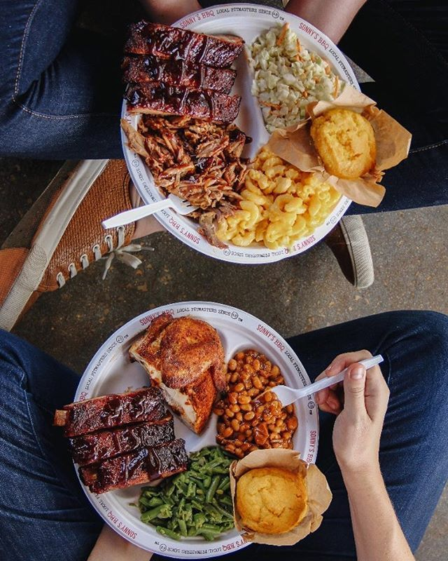 Pick Two To Go Too Good Sonnys Bbq Good Eats Eat