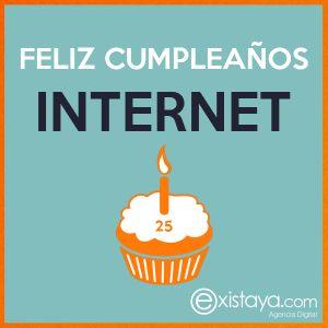 #FelizCumpleañosInternet Un día cómo hoy en 1989 Tim Berners Lee presentó lo que hoy conocemos como Internet.