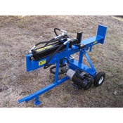 Electric log splitters offer a clean, quiet alternative to gas-powered wood splitters, and since they don't give off fumes they can safely be used indoors (in a basement, garage, or shed).